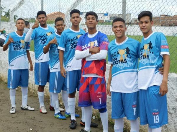 Jogador revelado na campeonato Taça das Grotas se destaca na equipe do CSA sub-17