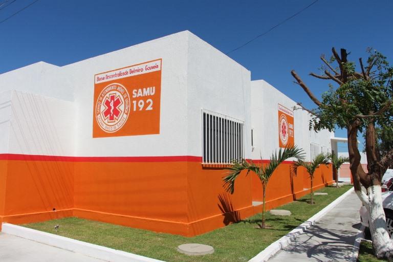 Delmiro Golveia tem base do SAMU reformada