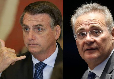 Bolsonaro e Renan Calheiros apoiam criação de Juiz de Garantias