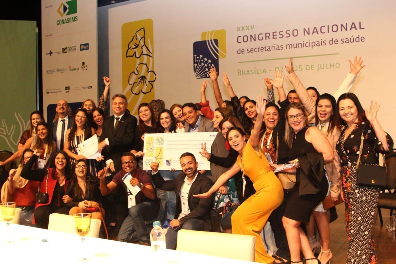 Alagoas leva três prêmios em Congresso Nacional de Secretarias Municipais de Saúde