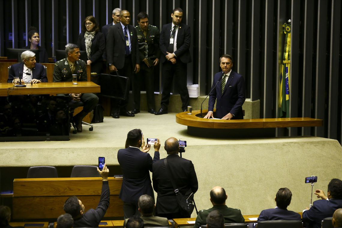 "Bolsonaro diz que Brasil precisa de ""quimioterapia"""