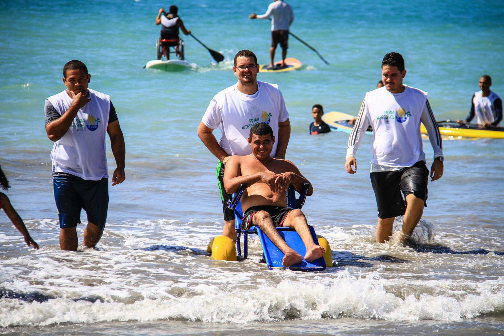 6ª edição do Praia Acessível acontece sábado (20) na Orla de Pajuçara