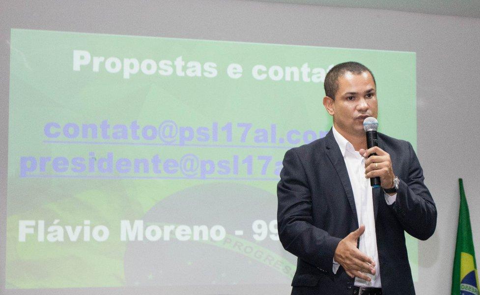 Flávio Moreno nega Sérgio Toledo (PL) no comando do PSL