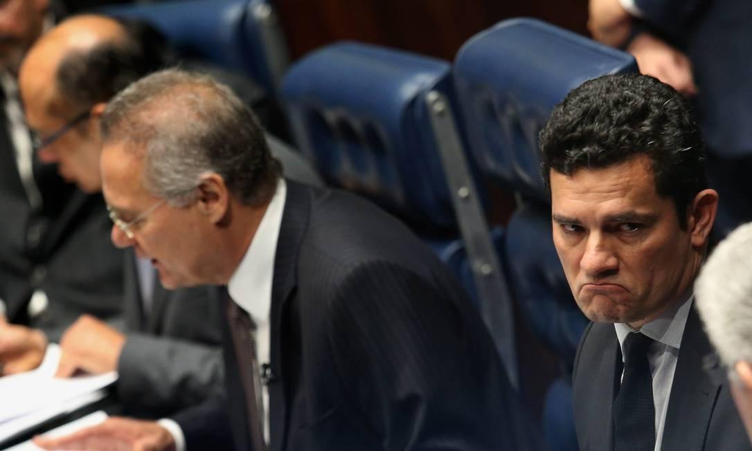 Renan Calheiros recomenda Rivotril  para Moro e Dellagnol