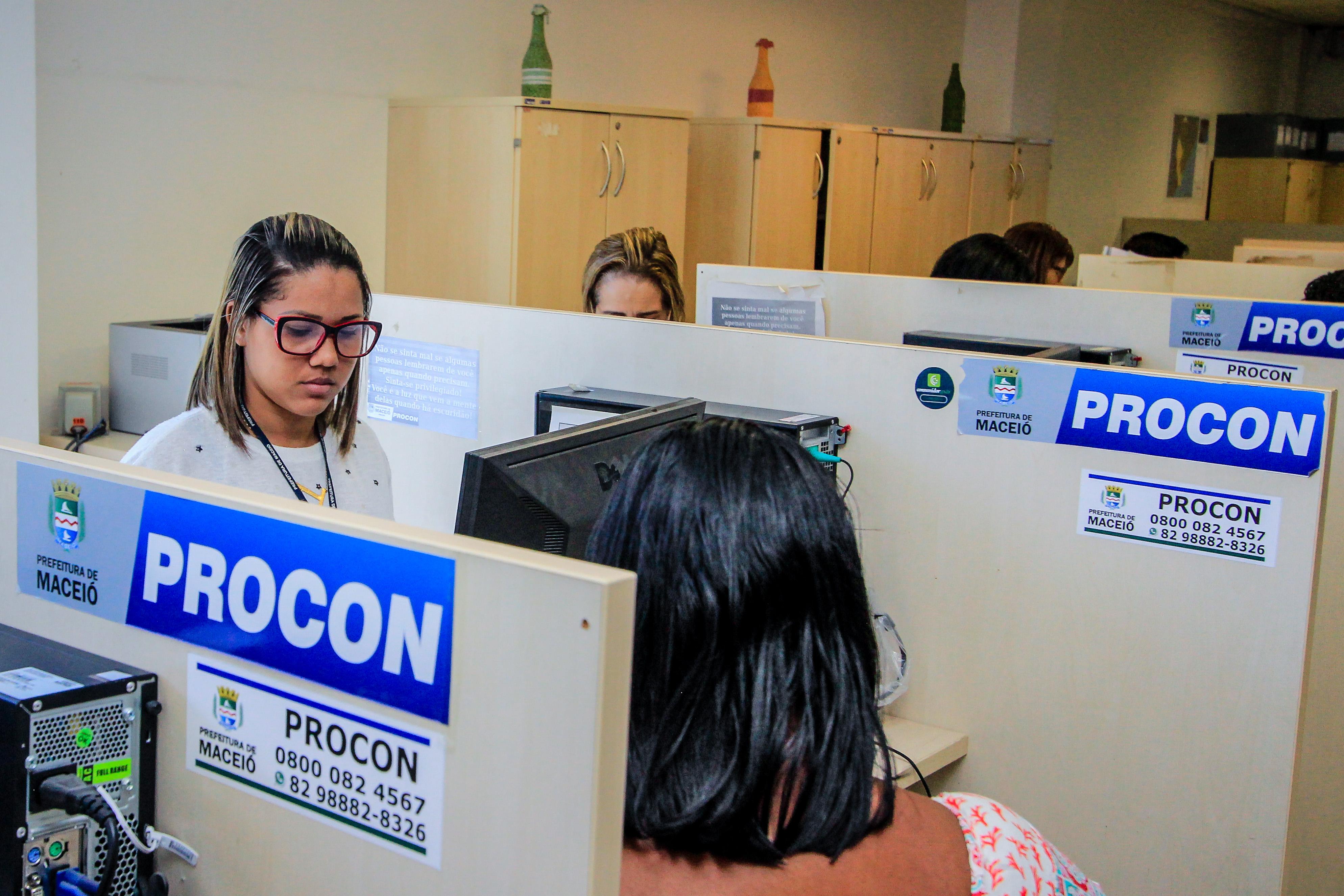 Oito mil atendimentos são registrados pelo Procon Maceió