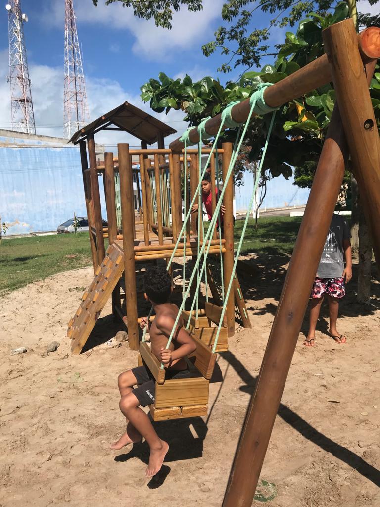 Maceió ganha novos parques infantis sustentáveis