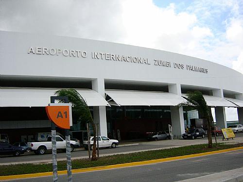 Fluxo de turistas cresce mais de 8% em Aeroporto de Alagoas