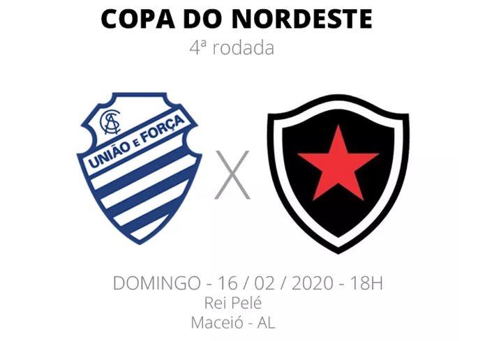 CSA e Botafogo-PB se enfrentam pela quarta rodada do Nordestão