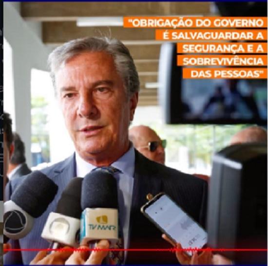 Senador anuncia distribuição de cestas básicas às famílias indígenas e quilombolas de Alagoas