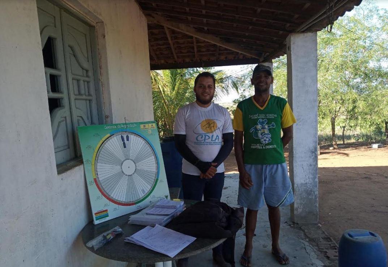 CPLA realiza assistência técnica com cooperados de Jacaré dos Homens