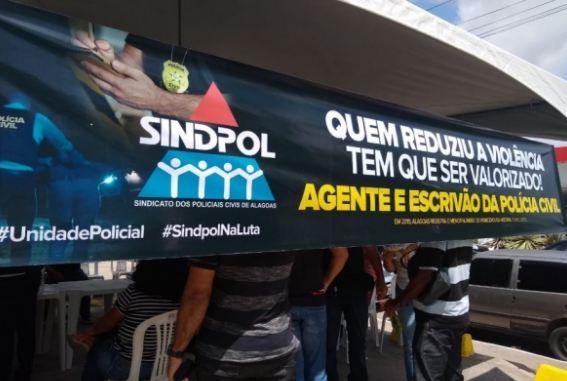 Policiais Civis de Alagoas podem realizar greve durante carnaval