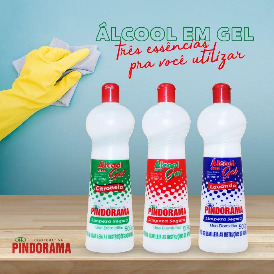 Pindorama mantém preço do álcool em gel