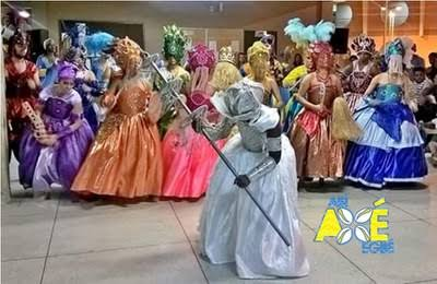 Carnaval no sertão começa mais cedo com o Abí Axé Ebgé