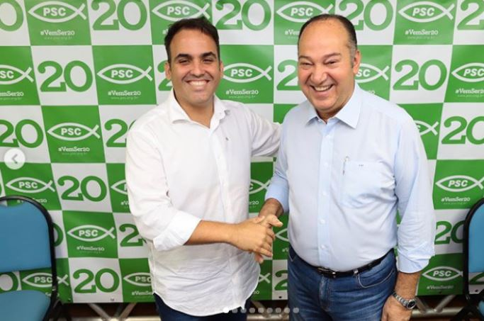 Renato Filho assume presidência do PSC Alagoas
