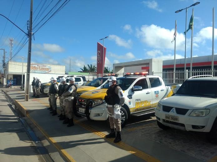 Em Teotônio Vilela PM faz patrulhamento para evitar reabertura do comércio