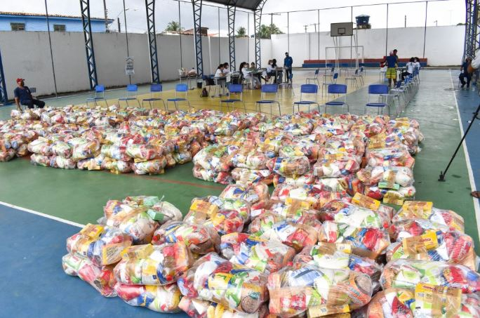 Beneficiários que não retiraram a cesta básica terão nova oportunidade