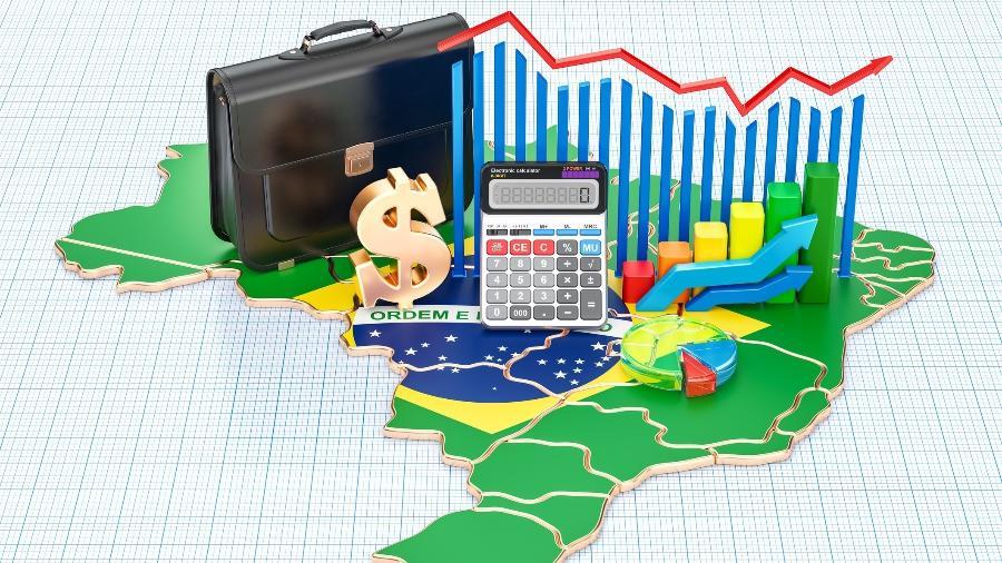 Com a crise causada pelo coronavírus PIB brasileiro deve cair 5% em 2020