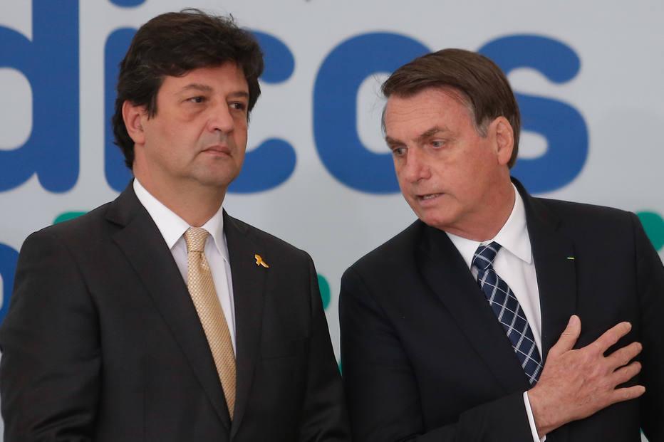 Ex-ministro da Saúde, Luiz Henrique Mandetta, diz que Bolsonaro tentou alterar bula da cloroquina