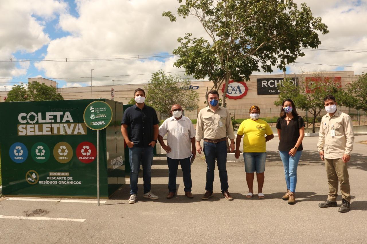 Parceria entre prefeituras e MVV fomenta melhoria na coleta seletiva no Agreste