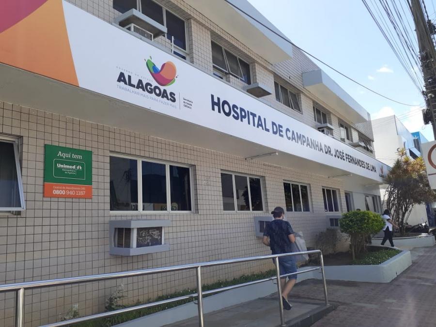 Hospital de Campanha em Arapiraca para Covid-19 entra em funcionamento