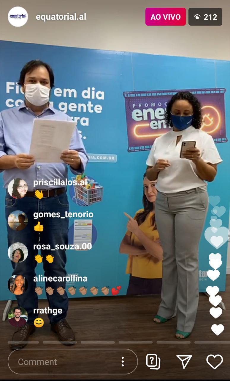 Energia em dia: Três ganhadores são de Maceió e um de São Sebastião