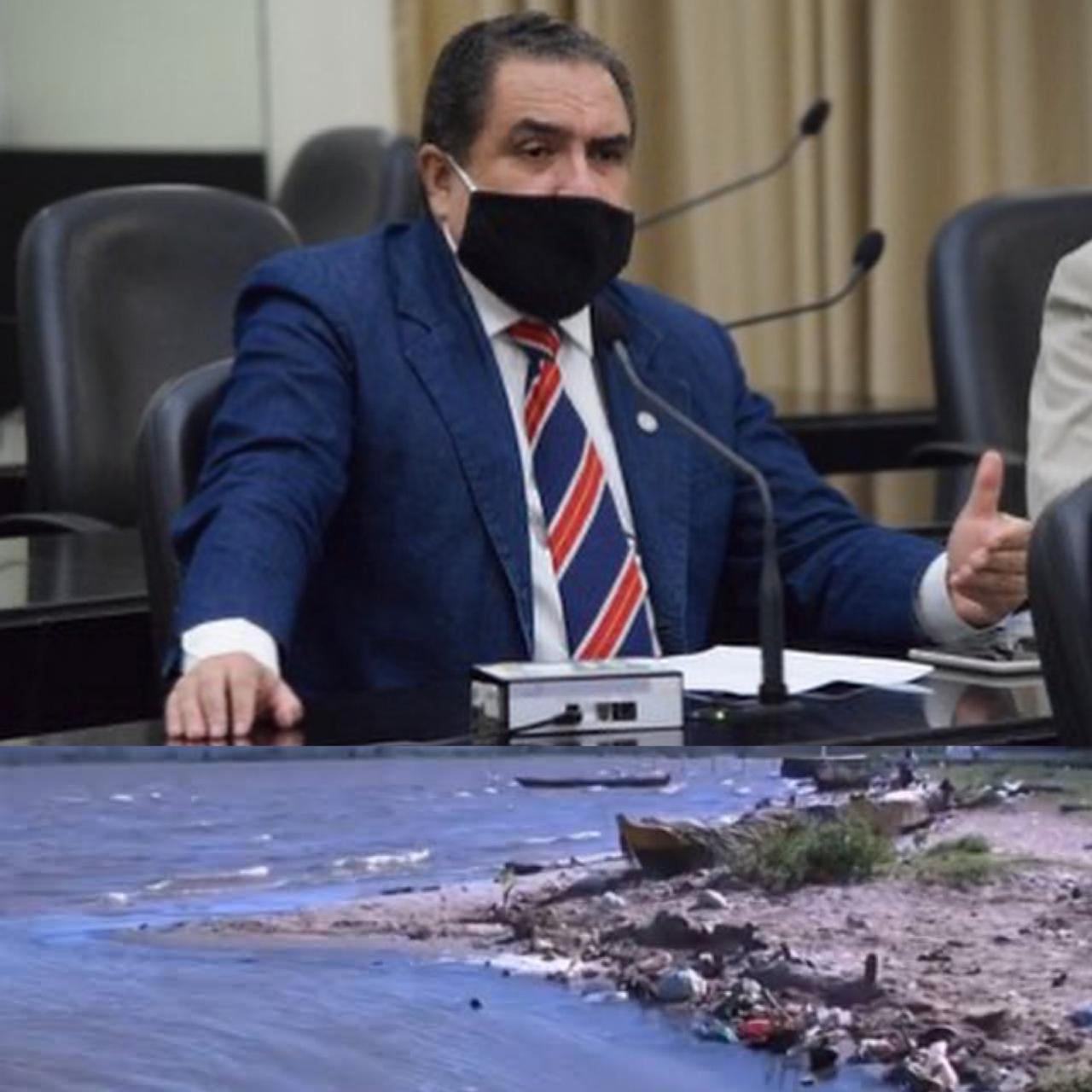 Deputado cobra medidas urgentes para o Complexo Estuarino Mundaú-Manguaba