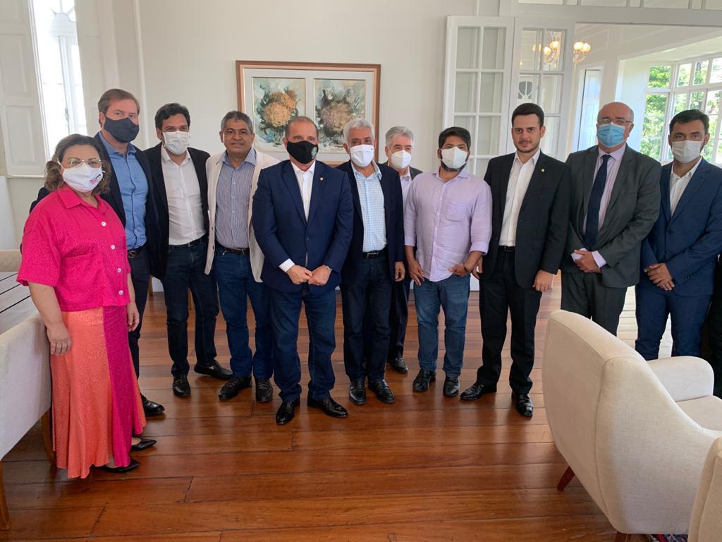 Presidente de Pindorama participa de solenidade com ministro da Cidadania em Maceió